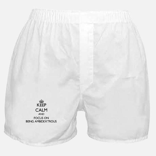 Funny Ambidextrous Boxer Shorts