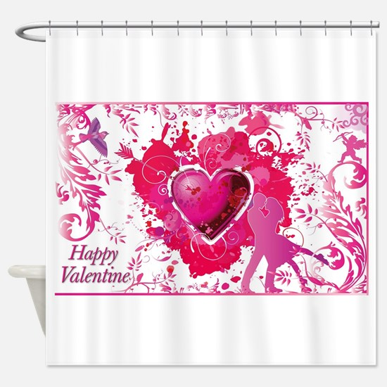 Unique Happy anniversary honey love you forever Shower Curtain