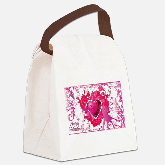 Cute Ame logo Canvas Lunch Bag