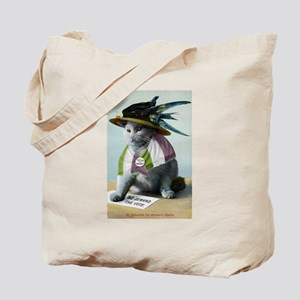 Suffragette Cat Tote Bag