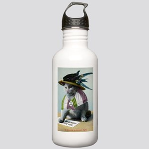 Suffragette Cat Stainless Water Bottle 1.0L