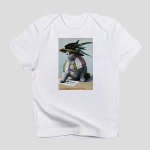 Suffragette Cat Infant T-Shirt