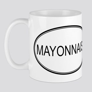 MAYONNAISE (oval) Mug
