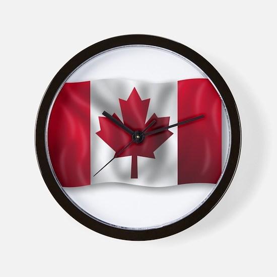 Unique Leafs nation Wall Clock