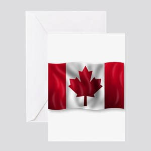 Canada Flag Greeting Cards