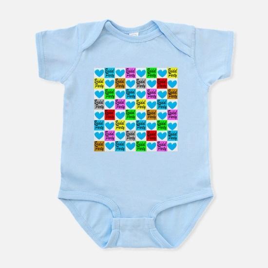 BLUE BRIDAL PARTY Infant Bodysuit