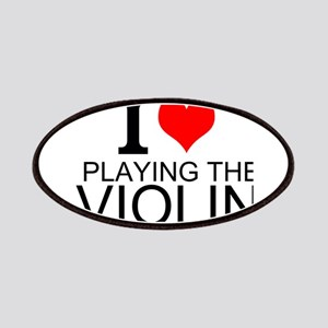 I Love Playing The Violin Patches
