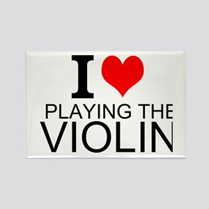 I Love Playing The Violin Magnets