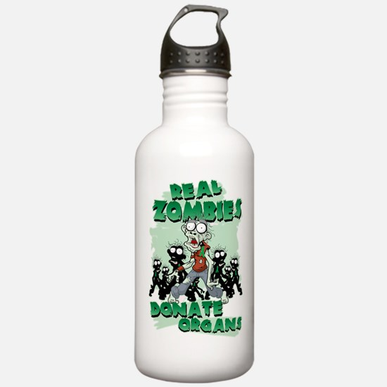 Real Zombies Donate Or Water Bottle