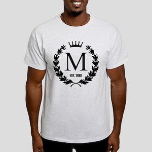 Custom Initial Logo Monogrammed T-Shirt