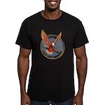USS LAKE CHAMPLAIN Men's Fitted T-Shirt (dark)