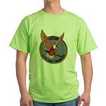 USS LAKE CHAMPLAIN Green T-Shirt