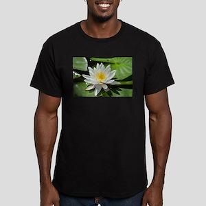 White Lotus Flower T-Shirt