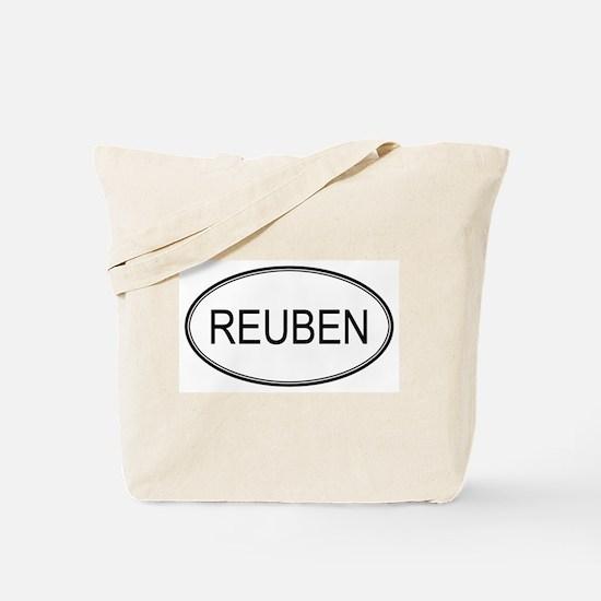 REUBEN (oval) Tote Bag