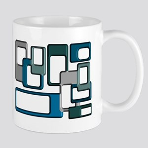 Mid-Century Modern Geometric Mugs