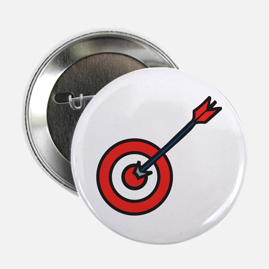 "Bulls Eye 2.25"" Button"