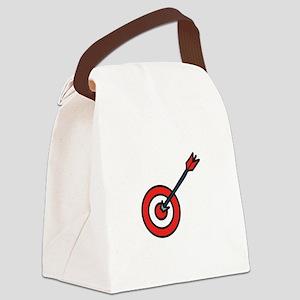 Bulls Eye Canvas Lunch Bag