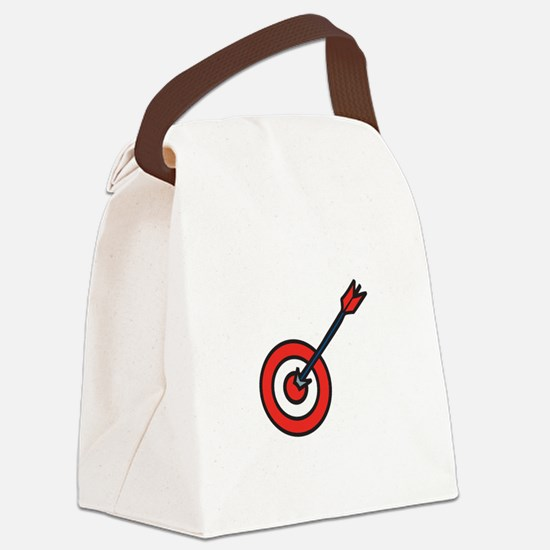 Bulls Eye Canvas Lunch Bag