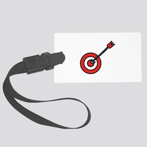 Bulls Eye Luggage Tag