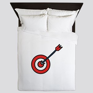 Bulls Eye Queen Duvet