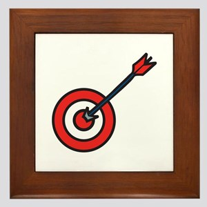 Bulls Eye Framed Tile
