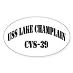 USS LAKE CHAMPLAIN Sticker (Oval)