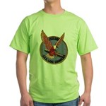 USS LAKE CHAMPLAIN Green T-Shirt