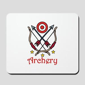 Bow Arrow Archery Mousepad