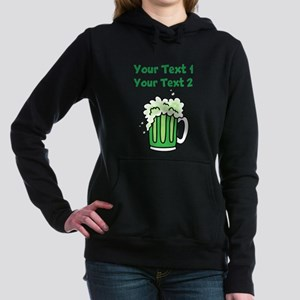 St Paddy's Green Beer Women's Hooded Sweatshirt