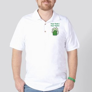 St Paddy's Green Beer Golf Shirt