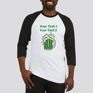 St Paddy's Green Beer Baseball Jersey
