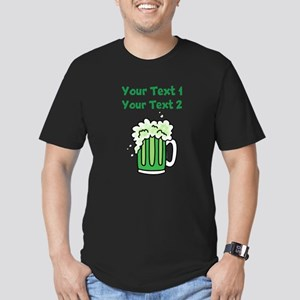 St Paddy's Green Beer Men's Fitted T-Shirt (dark)
