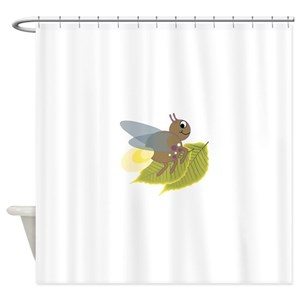 Lightning Bugs Shower Curtains