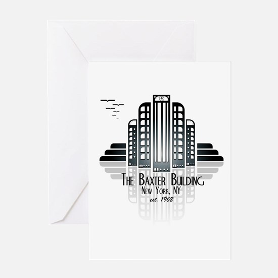 Baxter Building Greeting Cards