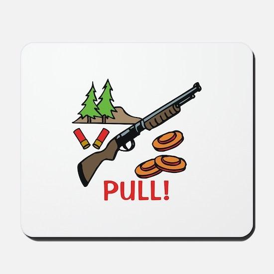 Skeet Pull Mousepad