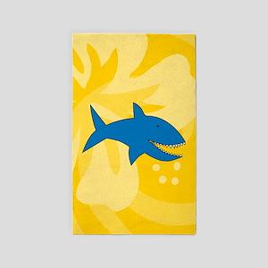 Shark 3'x5' Area Rug