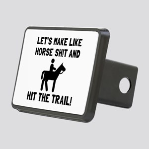 Horse Hit The Trail Hitch Cover