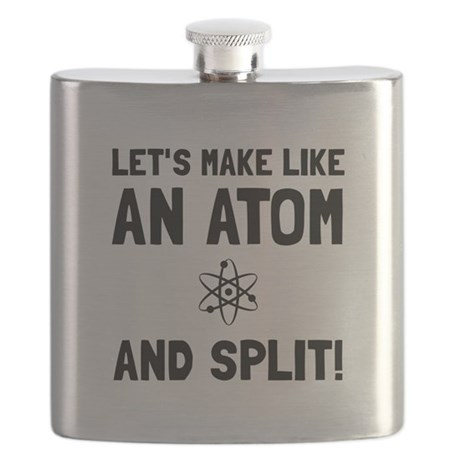 Like An Atom Split Flask