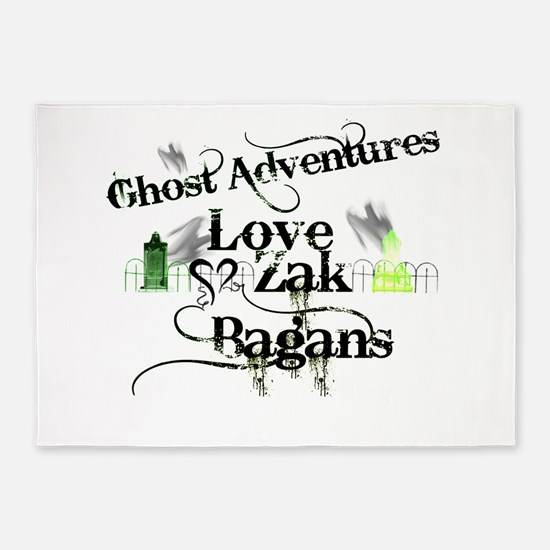 Ghost Adventures5.png 5'x7'Area Rug
