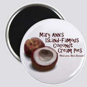 Mary Ann's Coconut Cream Pies Magnets