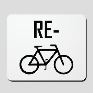 Recycle Bicycle Bike Mousepad
