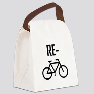 Recycle Bicycle Bike Canvas Lunch Bag