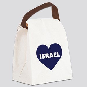 I Love Israel Canvas Lunch Bag