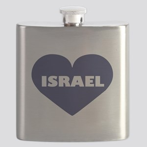 I Love Israel Flask