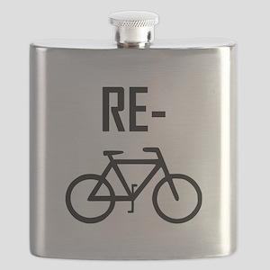 Recycle Bicycle Bike Flask
