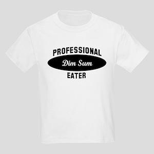 Pro Dim Sum eater Kids Light T-Shirt
