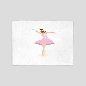 Ballerina Girl 5'x7'Area Rug