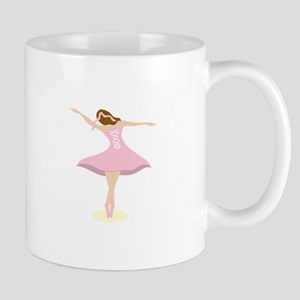 Ballerina Girl Mugs