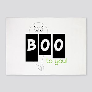 Boo To You 5'x7'Area Rug