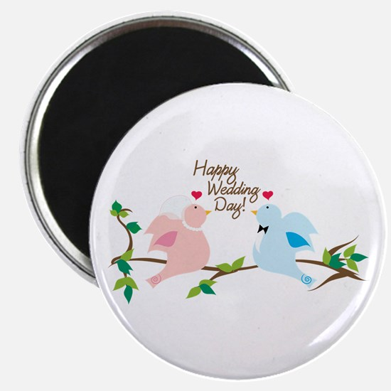 Happy Wedding Day! Magnets